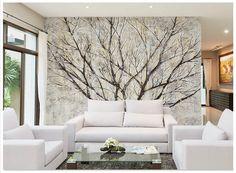 3d wallpaper custom 3d murals wallpaper Retro Atmosphere Hand-painted Big Trees Backdrop Walls bedroom TV wall paper home decor