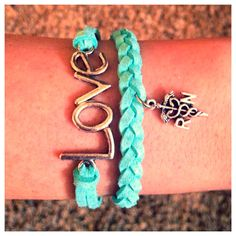 Love RN Bracelet by ShopAllTheRage on Etsy, $12.00