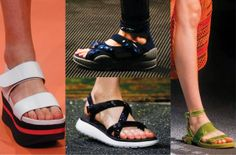 Sandals trend by Marni, Prada, Givenchy and Marc Jacobs