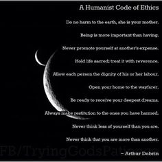 Humanist- love this....