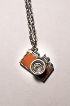 MINI CAMERA NECKLACE $15 -For my little cousins Sam & Bri