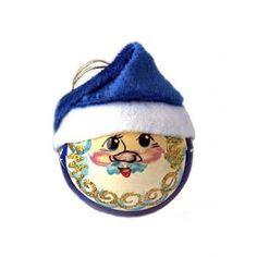 Santa Claus Ball, $12.00.  http://catalog.obitel-minsk.com/catalogsearch/result/index/?mode=list&q=ball #CatalogOfGoodDeeds #CatalogOfStElisabethConvent #handmade #Christmas #present #gift  #angel #souvenir #love #home #happy #orthodoxculture #religion #faith #Christian #Christianity #ball #wooden #handpainted #toy #Christmastree #decoration