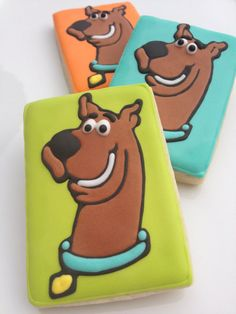 Cake Toppers New Scooby Doo Cupcake Rings One Dozen Ruh Roh