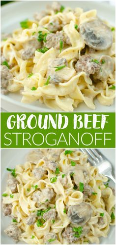 Yummy Pasta Recipes, Easy Dinner Recipes, Beef Recipes, Savoury Recipes, Delicious Meals, Dinner Ideas, Dessert Recipes, Yummy Food, Easy Weeknight Meals