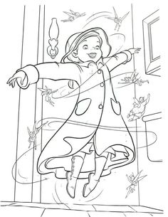 fairy tinkerbell coloring book page printable for children - Tinkerbell Coloring Book