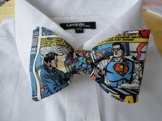Corbatas de moño de tus superhéroes