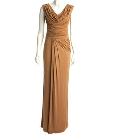 Another great find on #zulily! Golden Caramel Bailee Maxi Dress by CeMe London #zulilyfinds