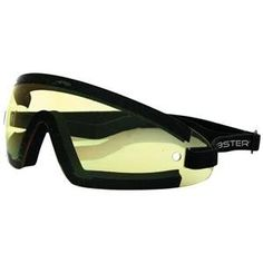 435650df3930 Bobster Wrap Around Goggles (BLACK YELLOW LENS) Review