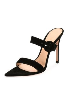 Women's Designer Sandals at Neiman Marcus Walk In My Shoes, Me Too Shoes, Suede Sandals, Shoes Sandals, Zapatos Shoes, Rossi Shoes, Shoes World, Trendy Shoes, Shoe Closet