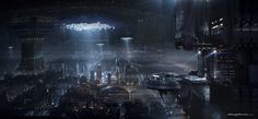 coruscant undercity | Star Wars 1313 Concept Art