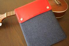 Just bought: iPad Mini Case in Denim & Leather by jositajosi on Etsy, $37.50