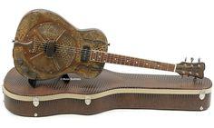 Guitare à Résonateur JAMES TRUSSART STEELRESOGATOR ELECTRIC, micro style P-90 & Fishman