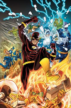 Pinner before: The Flash by Francis Manapul  i'm always enjoyed Manapul's take on Flash ~dusty~