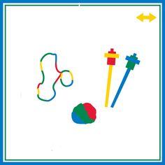 Fone de ouvido ajuda acalmar com música Puxar e esticar são atividades de organização de comportamento Manipulação de pequenos ...