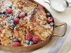 Coconut-Almond French Toast Casserole: The buttery coconut-almond crust makes this French toast casserole truly special and offsets the creamy, fluffy texture of the bread. You'll want to assemble the dish the day before to give the bread time to soak in the custard.