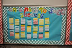 Exploring Elementary: Our school-wide behavior management program.  Used Creative Teaching Press's Chevron Library pockets, letters and border.