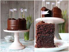 Miss Blueberrymuffin's kitchen: Eine Schokoladen-Torte von Linda