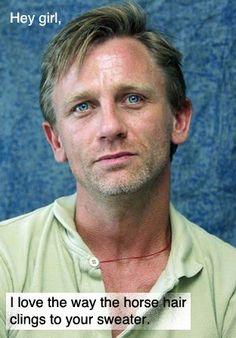 Equestrian Daniel Craig. *sigh*