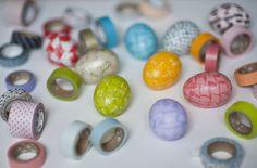 Húsvéti tojás díszítés dekortpasszal