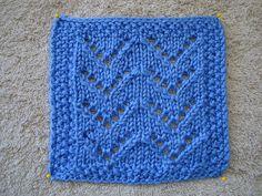 Vandyke Lace Knitting Pattern : 1000+ images about Knitting: motifs, squares, etc on ...