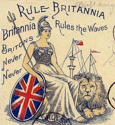 Rule Britannia! London art