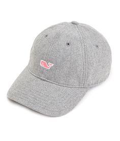Shop Womens Flannel Baseball Hat at vineyard vines