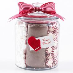 Holiday Hot Chocolate in a Jar