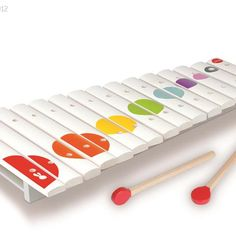 Little ones create their own masterpiece with this xylophone boasting a wooden key design for uniquely rich tones. New Parent Advice, Key Design, Nursery Inspiration, New Parents, Baby Accessories, Parenting Hacks, Little Ones, Nurseries, Texas