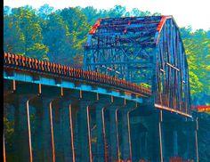 Cape Fear River Bridge funky.jpg by Sabre - Hope Mills, via Flickr