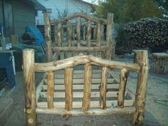 Aspen Queen Log Bed Frame