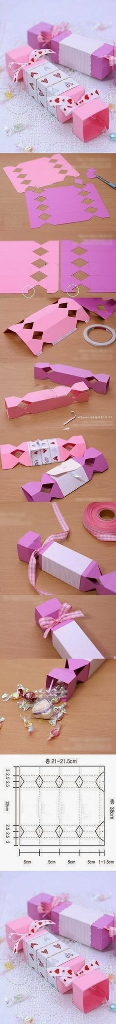 DIY : Cute Candy Gift Box | DIY & Crafts Tutorials