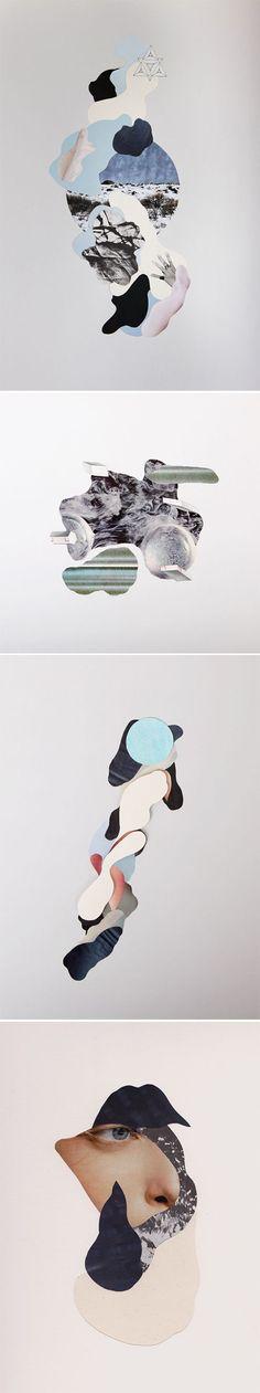 Paper Planes. collage design