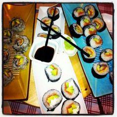 L'ora del sushi http://www.fiammaefornelli.it