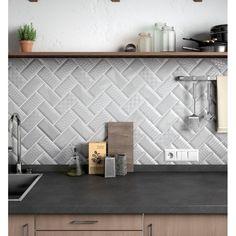 Les 10 meilleures images de Carreaux metro | Decorating Kitchen ...