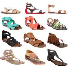 SteveMaden Sandals, created by katelynskloset on Polyvore