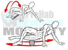 Espuma del balanceo del vasto externo y TI Band - Músculos lateral pierna con oscilaciones Beneficios: Aumenta el rango de movimiento de extensión de la cadera y la aducción.  Aumenta la producción de fuerza neuromuscular, capacidad de respuesta, y la coordinación de la parte inferior del cuerpo ....