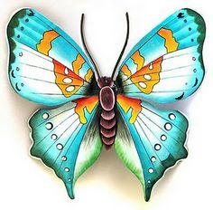 Butterflies Metal Butterfly Wall Art, Butterfly Wall Decor, Butterfly Decorations, Butterfly Painting, Butterfly Art, Butterflies, Outdoor Metal Wall Art, Metal Art Decor, Metal Artwork
