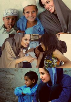 Angelina Jolie: Making a global impact by helping people standing up for LGBT issues.