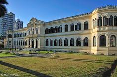 Visão do Museu de pesca de Santos após a reforma