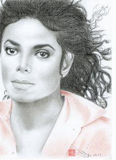 ♦ Artwork by Eliza Lo ♦ Michael Jackson Drawings, Michael Jackson Art, Michael Art, Jackson 5, Michelangelo, Picasso, Art Sketches, The Twenties, Joseph