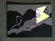 Kappa Alpha Theta Flying Kite Collage Small by LovelyandLudicrous