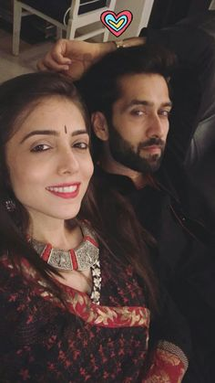 Royal Pic, Back Stitch Embroidery, Silver Jewellery Indian, Silver Jewelry, Nakul Mehta, Mr Perfect, Real Family, Real Couples, Cute Celebrities