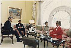 Princess Diana and Prince Charles at the Reagan White House