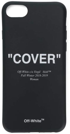 Off-White 'Cover' Printed iPhone 8 Case - Farfetch Iphone Wallpaper Vsco, Cool Cases, New Sign, Iphone 8 Cases, Brand You, Off White, Printed, Cover, Products