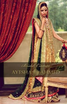 Bridal Wear and Formal Wear Dresses 2013 by Ayesha Ahmed