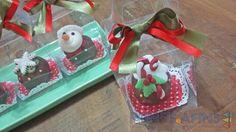 Embalagens individuais #cakeball #Natal