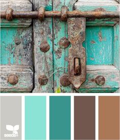 Color locked palette teal