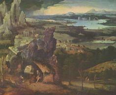 Landschaftsmalerei renaissance  Altar of Archangel Michael - Gerard David | Renaissance & Barouque ...