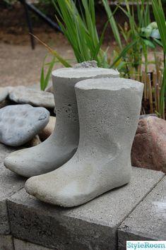 Cement Art, Concrete Cement, Serenity Garden, Garden Ornaments, New England, Backyard, Inspiration, Image, Handicraft Ideas