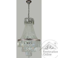 Le Maison 6 Light Large Crystal Chandelier Basket
